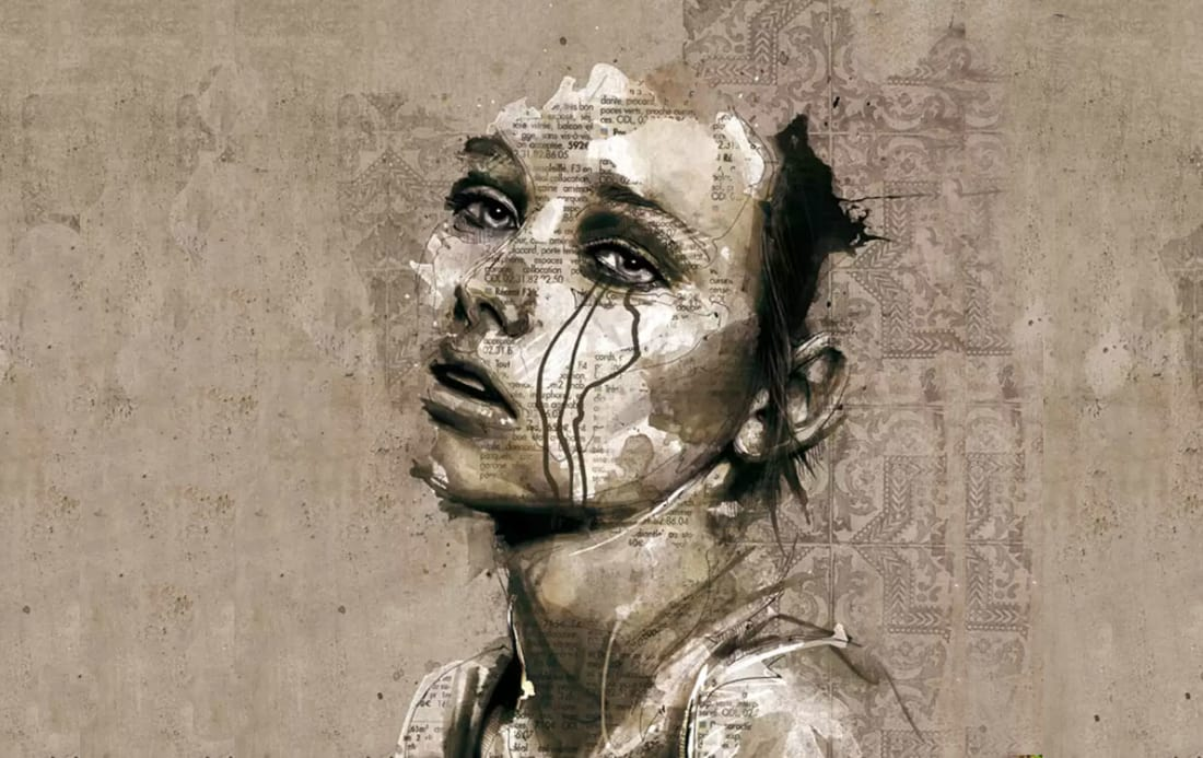 Painting by Florian Nicolle