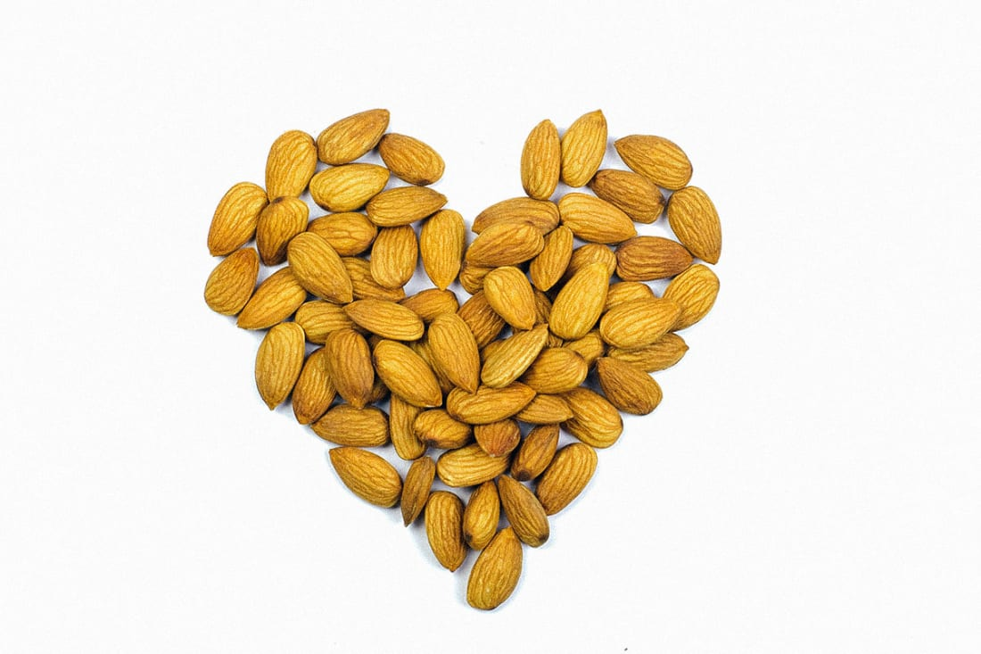 Almonds Also Help with the Heart
