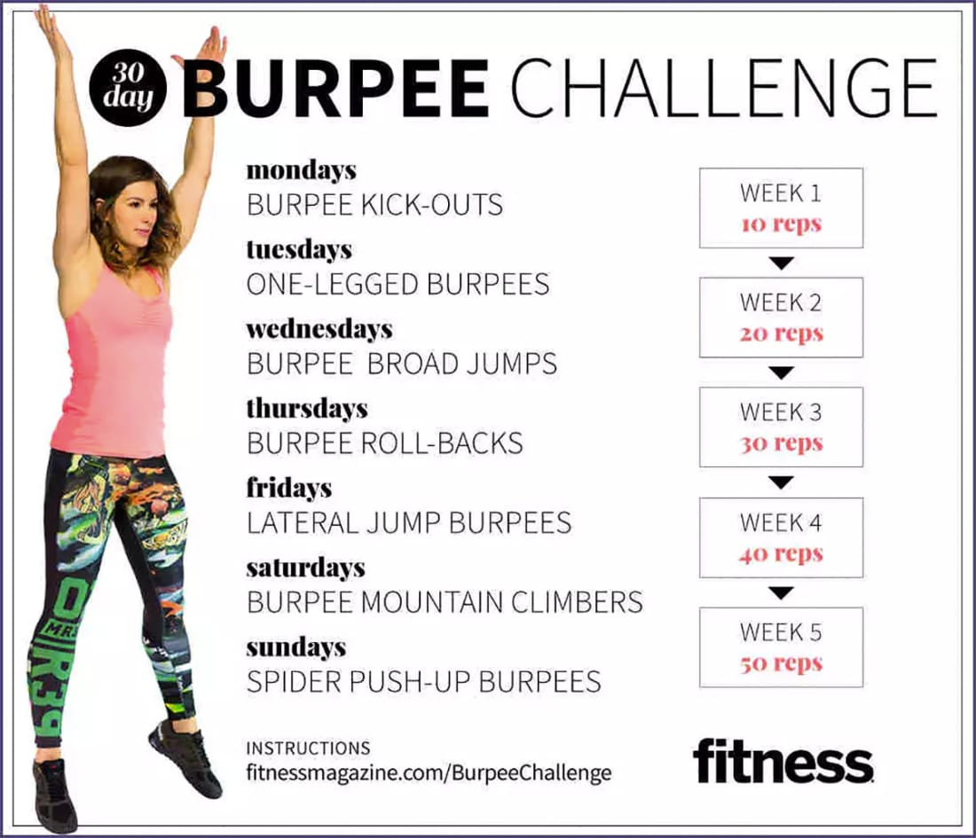 Take on a 30 Day Challenge