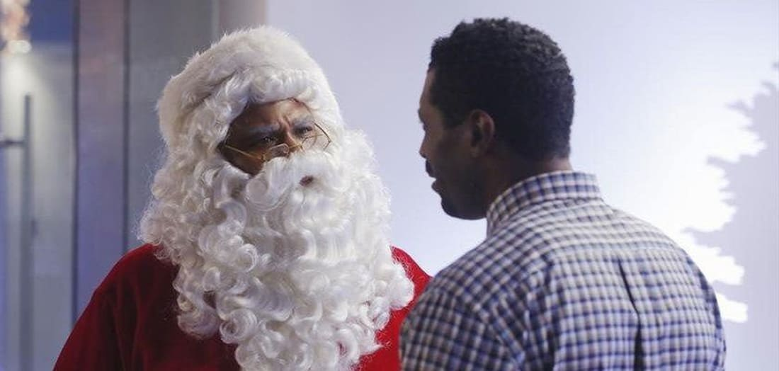 Black Santa/White Christmas