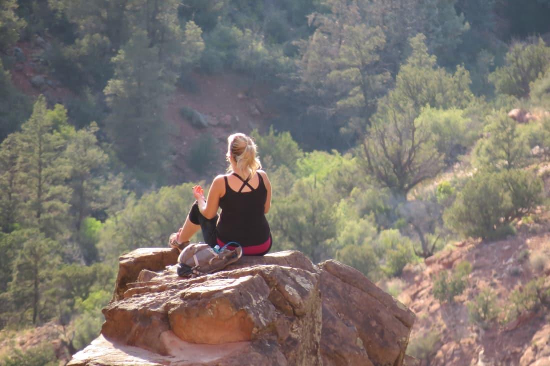 An Arizona Peak in Contemplation