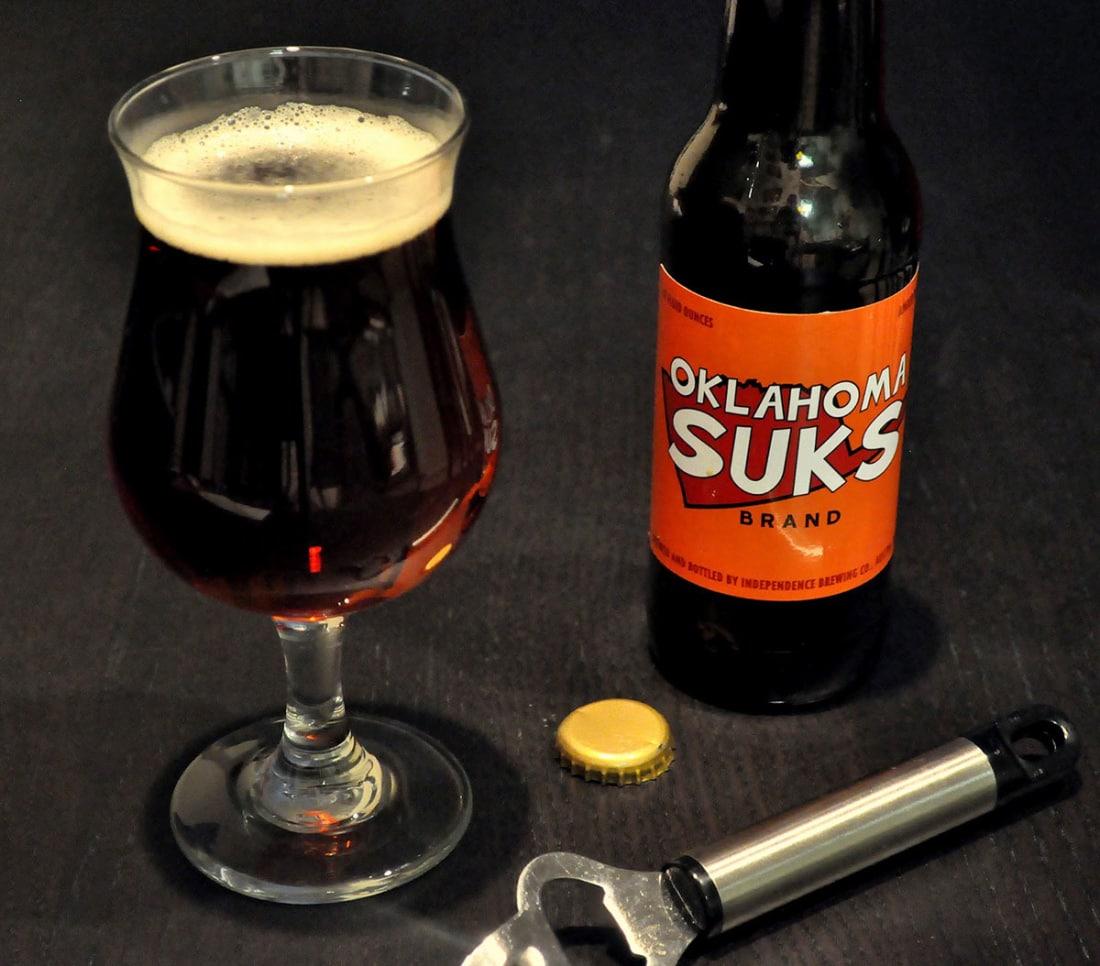 Oklahoma Beer—Served Nice and Warm