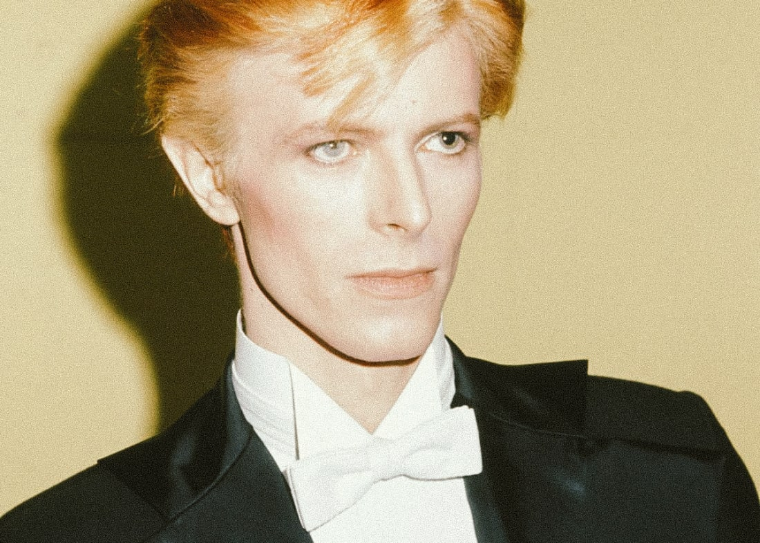 David Bowie at the 1975 Grammy Awards