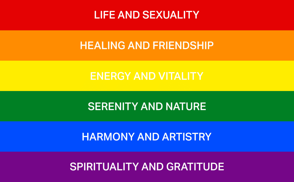 радужный LGBT+ флаг