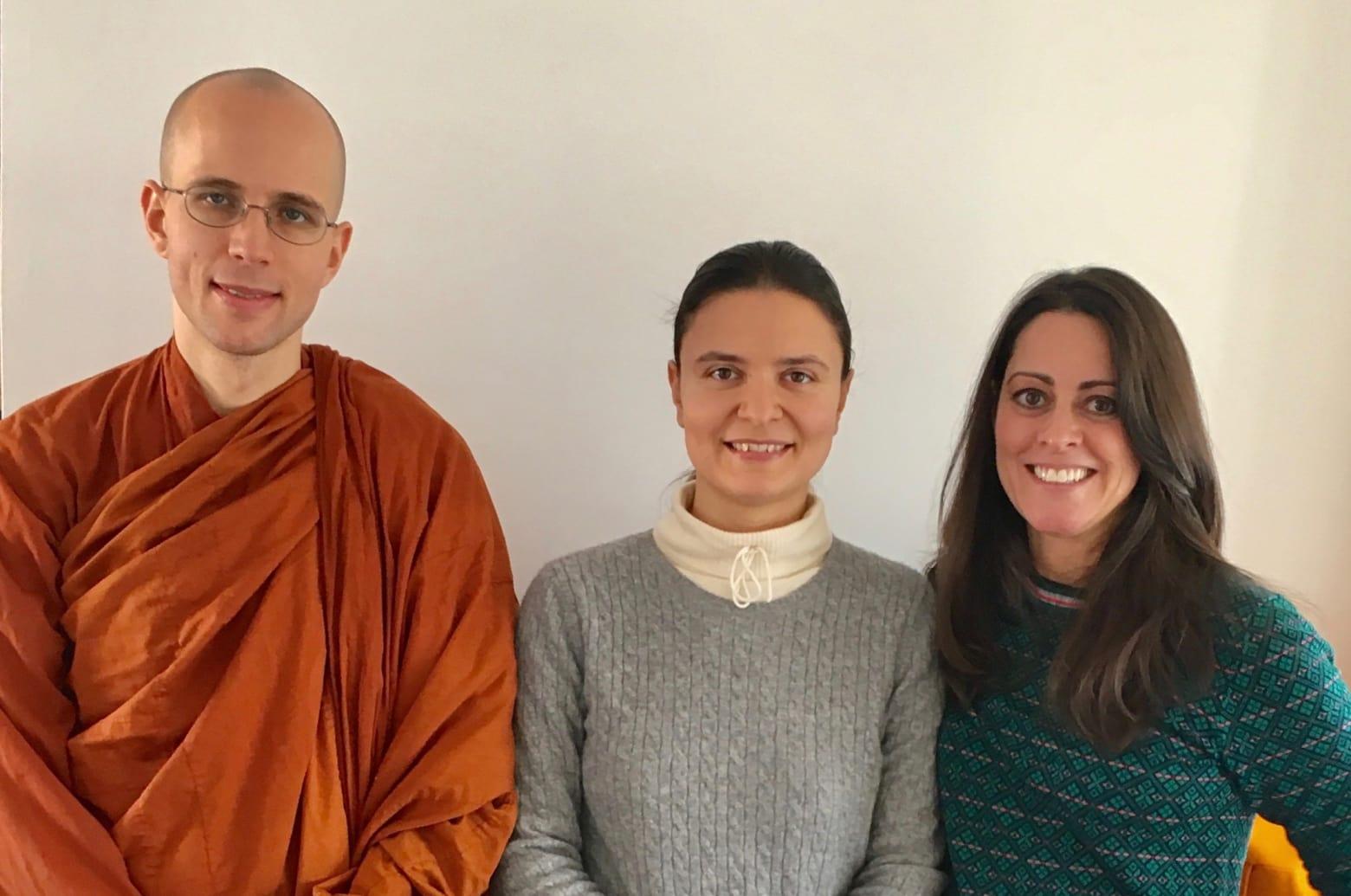 Bhante Suddhāso, Giovanna Maselli, Kim Stetz