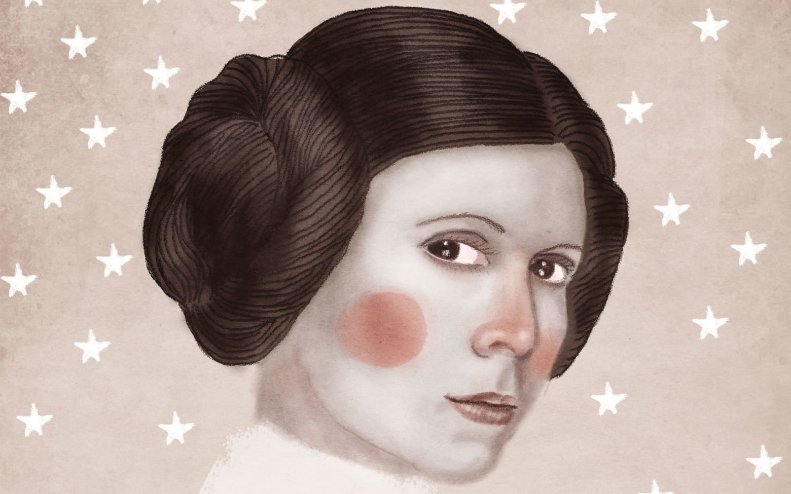 Best Carrie Fisher Tribute Art