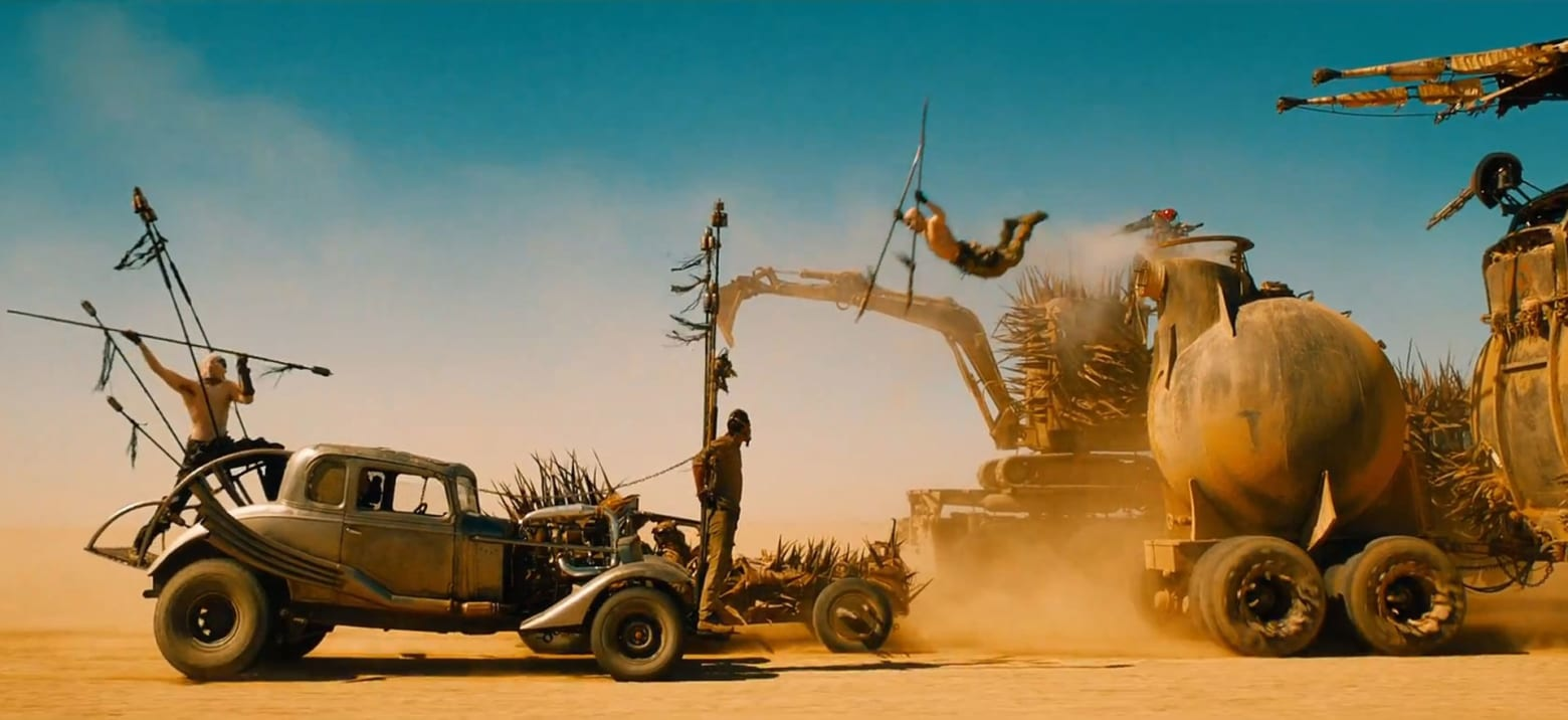 'Mad Max' Tracks on 'Fury Road'