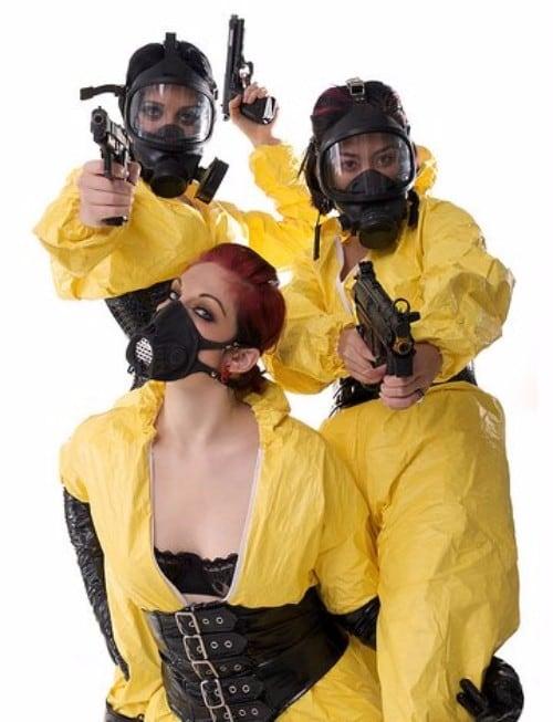 8. Find a Respirator and/or Hazmat Suit