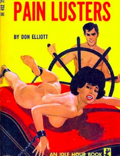 "Example of ""adult"" fiction of the era. Note: This was NOT a Resnick title."