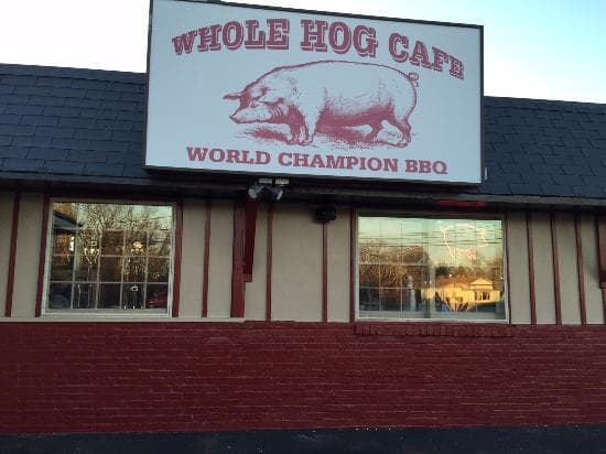 #4 Overall Pick - Whole Hog Cafe located in Medford, NJ