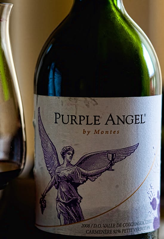 Purple Angel by Montes, Vintage 2008