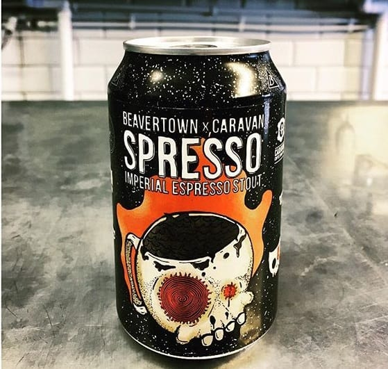 Breakfast Beer. Beavertown X Caravan 'Spresso Imperial Espresso Stout