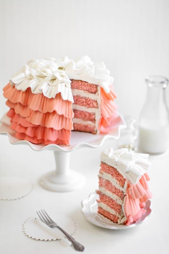 Shindig Ruffle Cake