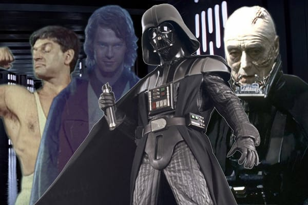 Who played Darth Vader in the films?