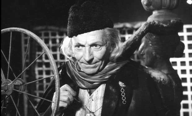 The First Doctor...yet somehow the oldest looking