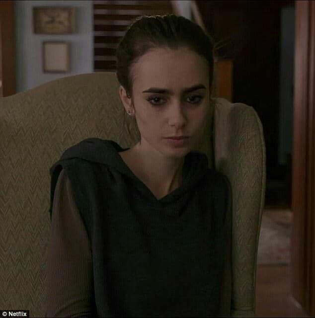 Lily Collins as Ellen in Netflix's recent premiered movie, To The Bone