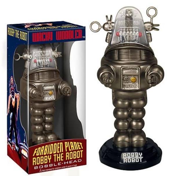 Robot Bobble Head