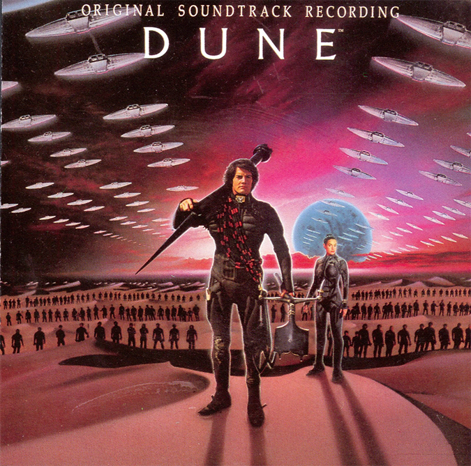Dune (1984) - orignal score by Toto and Brian Eno
