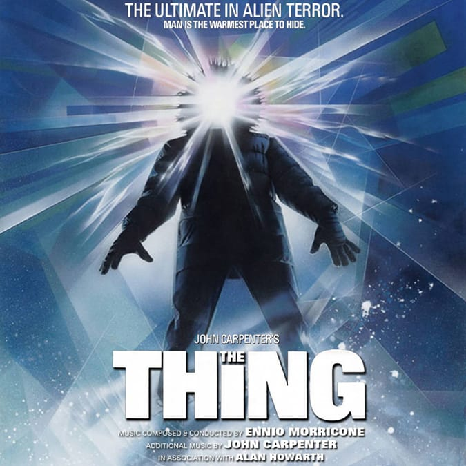 The Thing (1982) - original score by Ennio Morricone