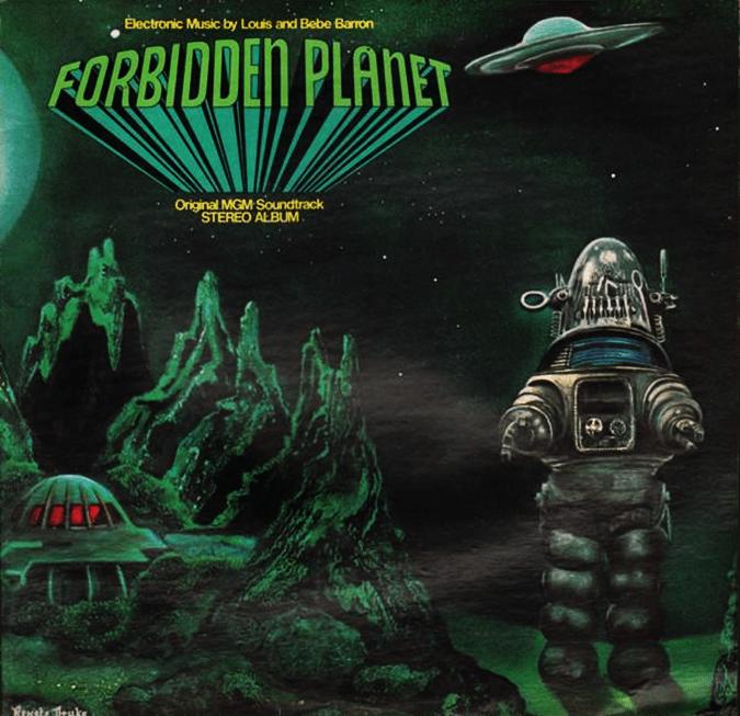 Forbidden Planet (1956) - original score by Louis and Bebe Barron