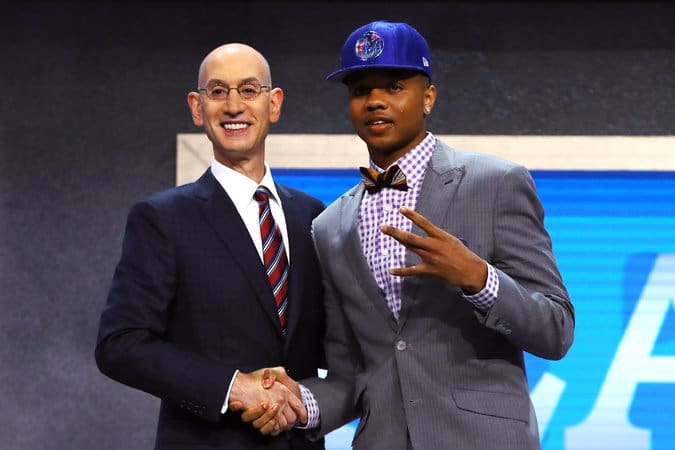 Number one overall pick Markell Fultz