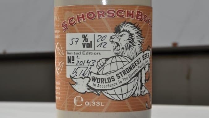 Schorschbräu Schorschbock 57% - 57% ABV