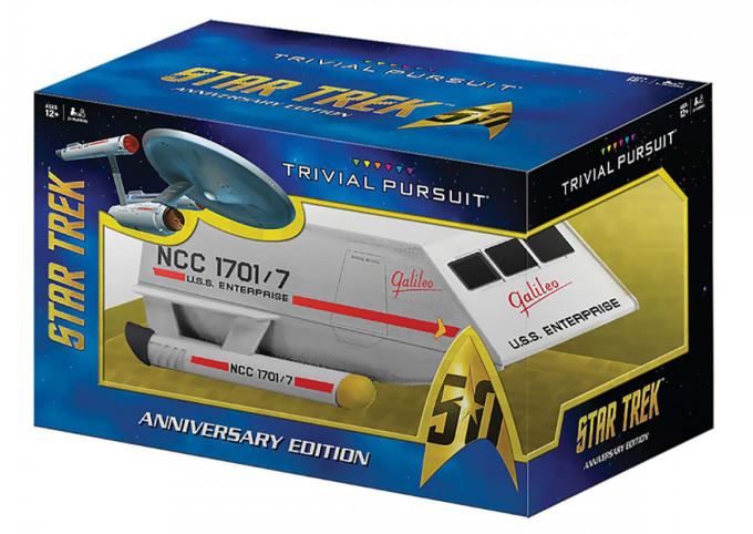 Trivial Pursuit - Star Trek Edition 50th
