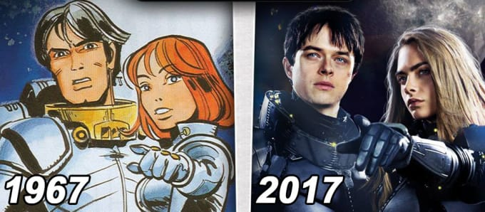 The Inspiration - 'Valérian and Laureline'