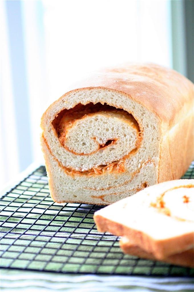 Sriracha Swirl Bread
