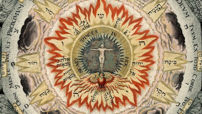 Kabbalah compass rose