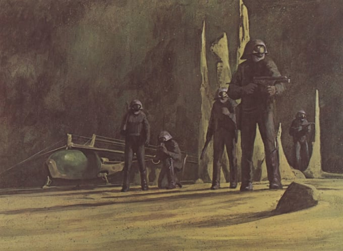 Illustration by John Schoenherr