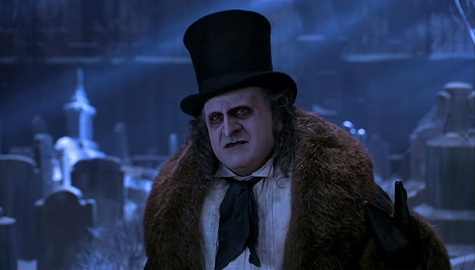 Batman Returns: Danny Devito as the Penguin