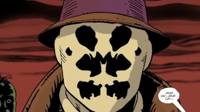 Rorschach's mask