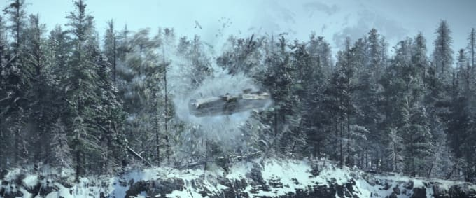 In The Force Awakens, Lightspeed is the same as aircraft speed