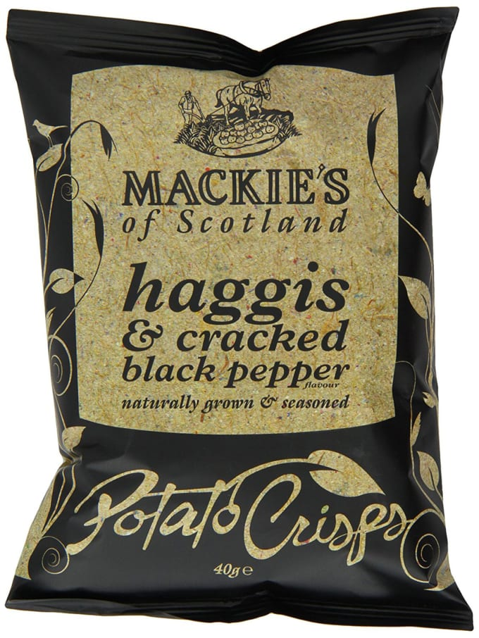 Haggis and Black Pepper Crisps