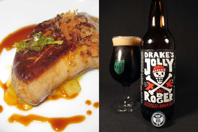 Foie Gras + American Black Ale
