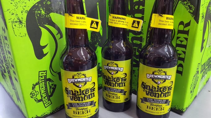 Brewmeister Snake Venom - 67.5% ABV