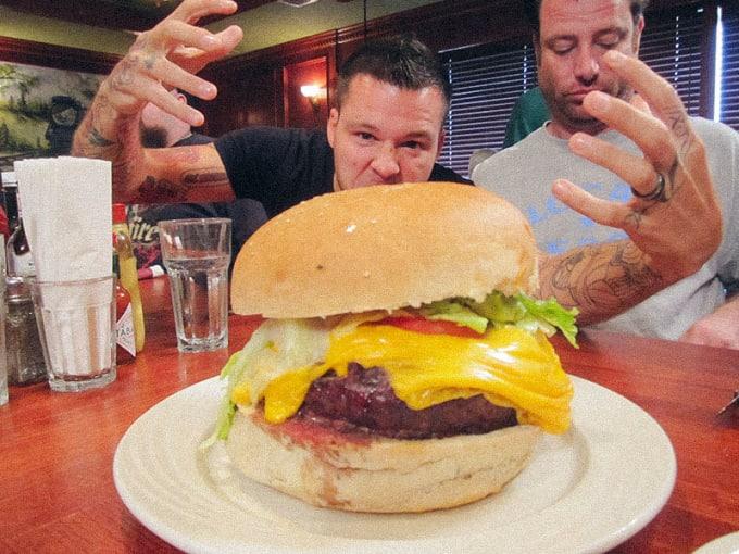 Clinton Station Diner (Clinton): Atlas Burger