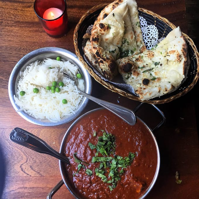 Brick Lane Curry House (Upper Montclair and Ridgewood): Bowl of Spicy Phaal Curry