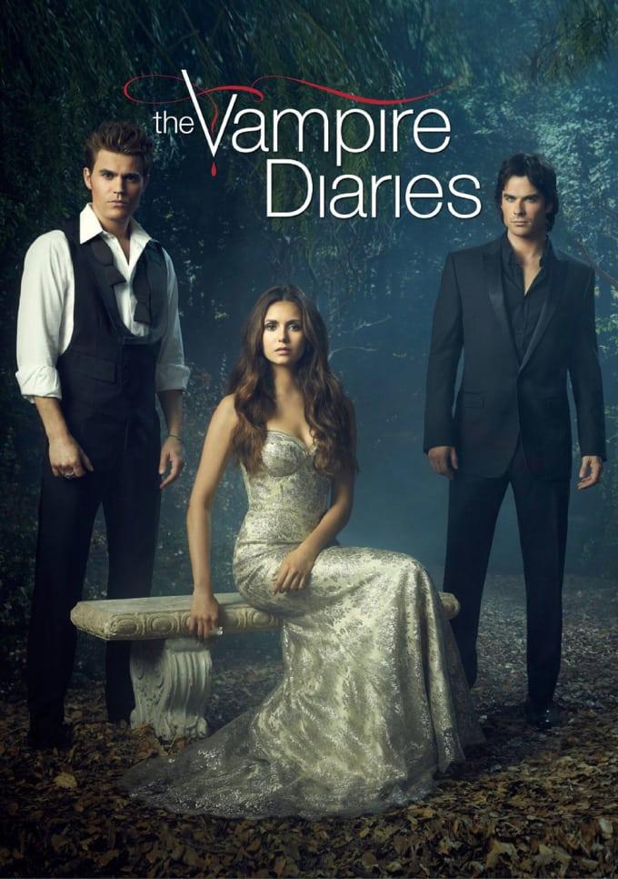 The Vampire Diaries: Damon X Elena X Stefan