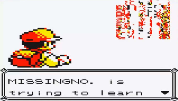 MissingNo and the other Glitches - Pokemon Red and Blue