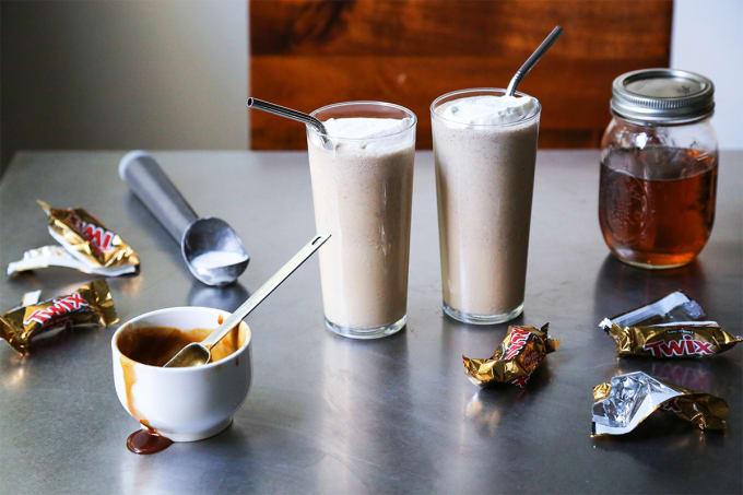 Bourbon Vanilla Shake
