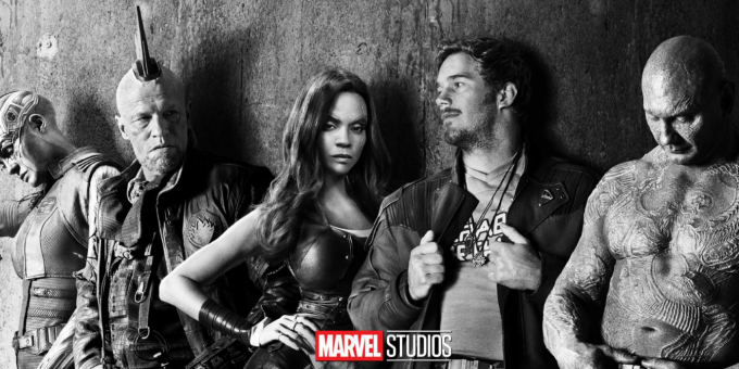 The Guardians of the Galaxy in Ramones mode
