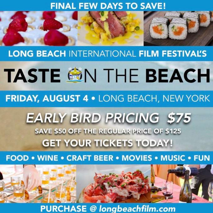 Taste On The Beach - August 4th
