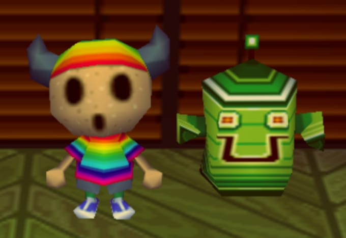 Gyroid Face - Animal Crossing