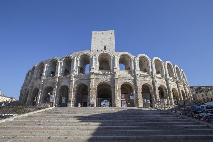 Roman amphitheatres