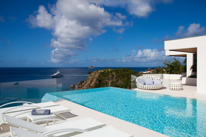 Two Weeks in St. Bart's: $15,000.