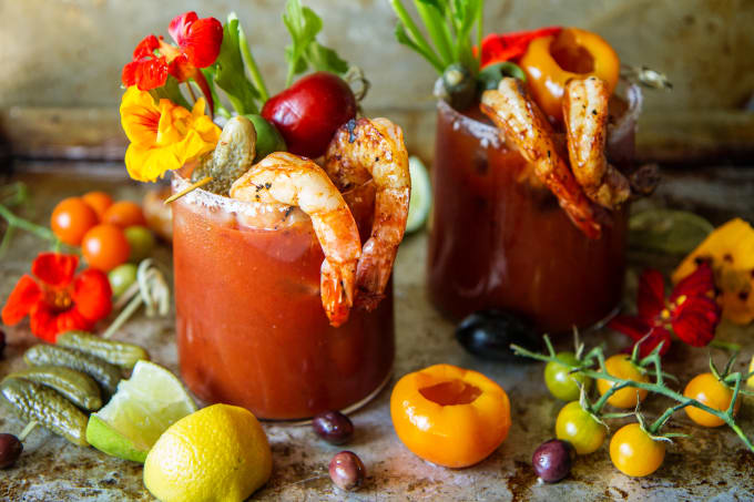 Bloody Marys: 100 - 120 (Per Cocktail)