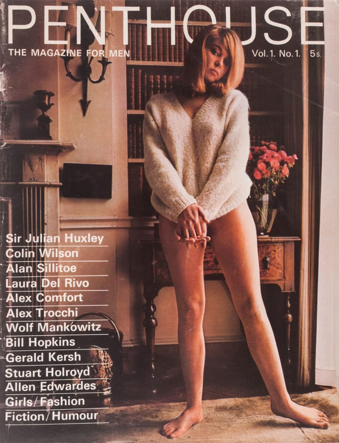 Penthouse Magazine, Issue 1, 1965