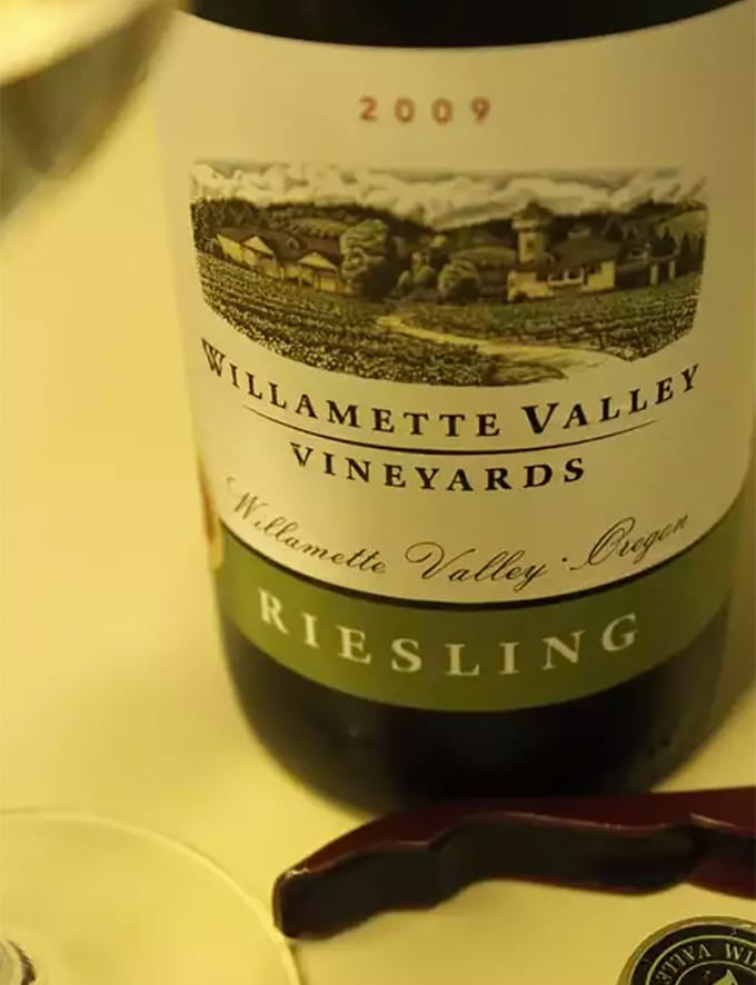 Willamette Valley Vineyards Riesling (Oregon)